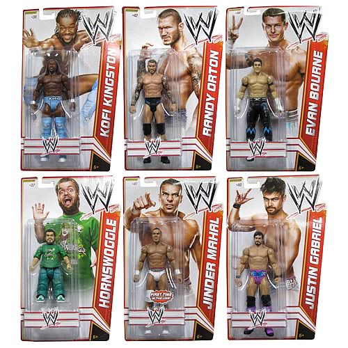 WWE Basic Figure 2012 Wave 19 Action Figure Case