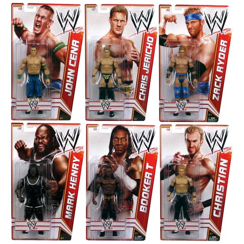 WWE Basic Figure 2012 Wave 22 Action Figure Case