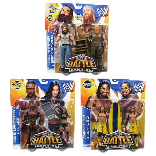 WWE Basic 2-Pack Series 28 Action Figure Case