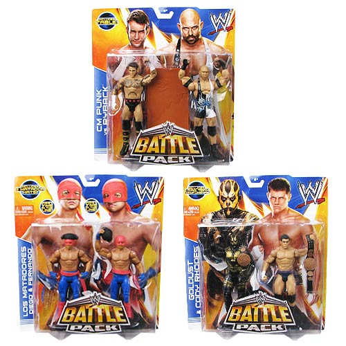 WWE Basic 2-Pack Series 29 Action Figure Set
