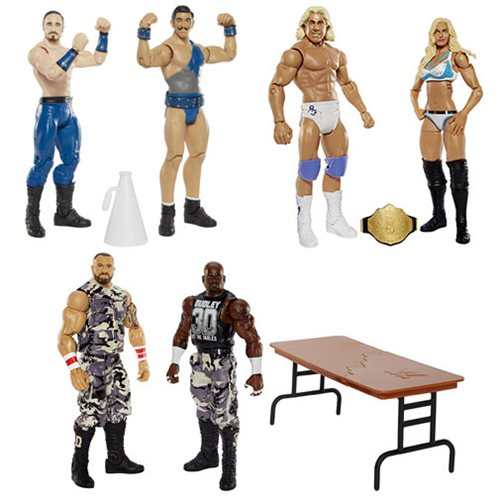 WWE Basic 2-Pack Series 41 Action Figure Set