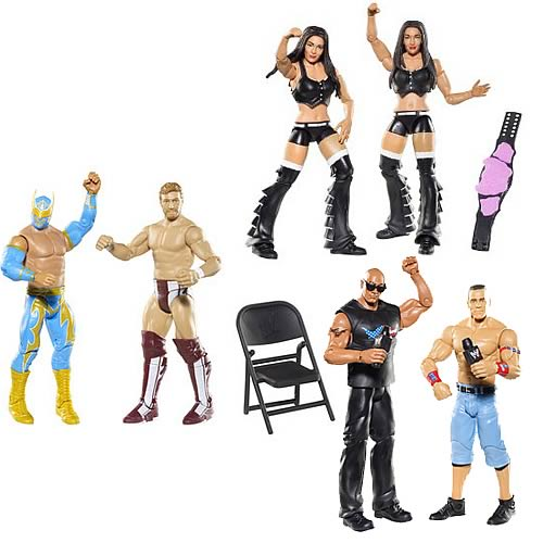 WWE Basic 2-Pack 2012 Action Figure Wave 15 Case