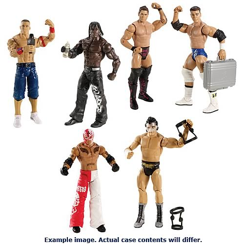 WWE Basic 2-Pack 2012 Action Figure Wave 19 Case