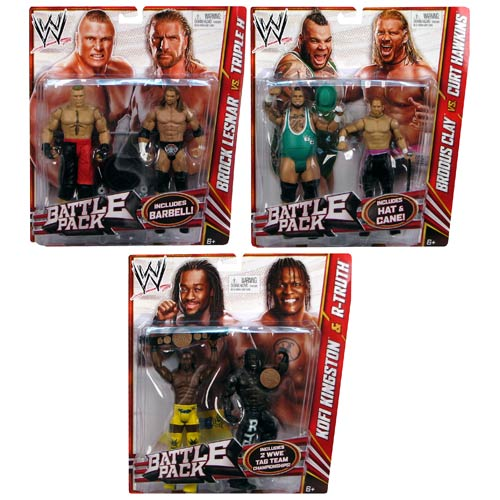 WWE Basic 2-Pack 2012 Action Figure Wave 20 Rev. 1 Case