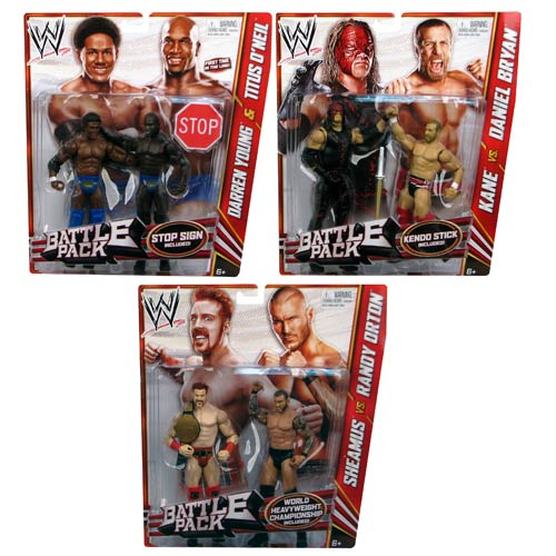 WWE Basic 2-Pack Wave 21 Revision 1 Action Figure Set