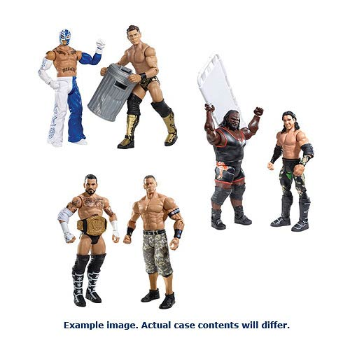 WWE Basic 2-Pack Wave 22 Action Figure Case