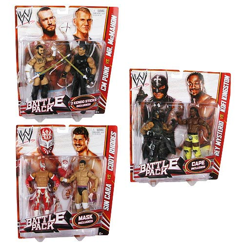 WWE Basic 2-Pack Wave 23 Action Figure Set