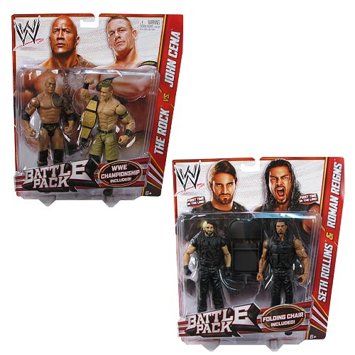 WWE Basic 2-Pack Wave 24 Revision 1 Action Figure Case
