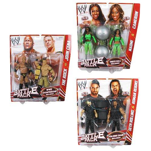 WWE Basic 2-Pack Wave 24 Action Figure Case