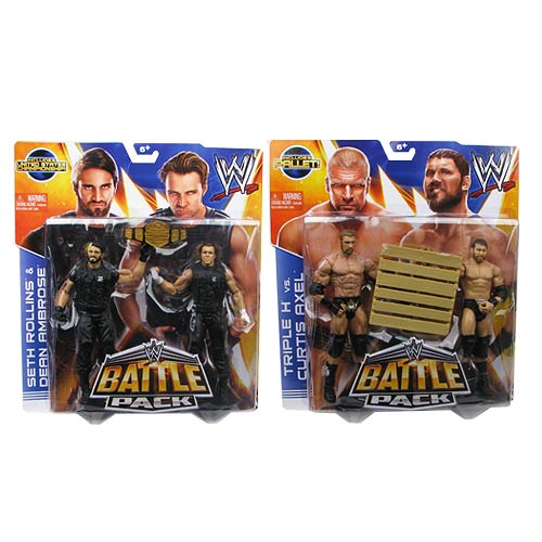 WWE Basic 2-Pack Series 26 Revision 1 Case