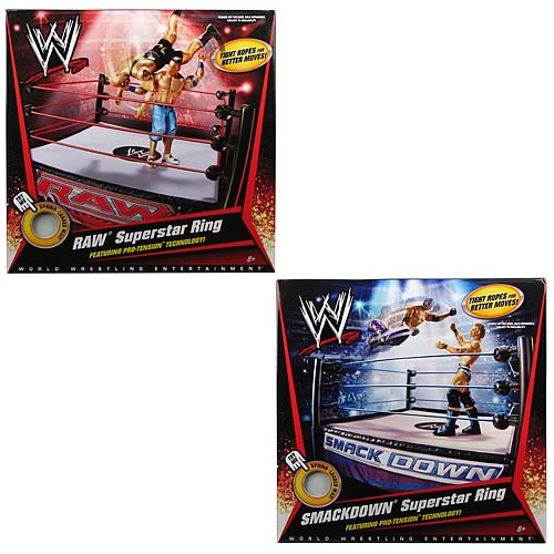 WWE Superstar Ring Assortment Case