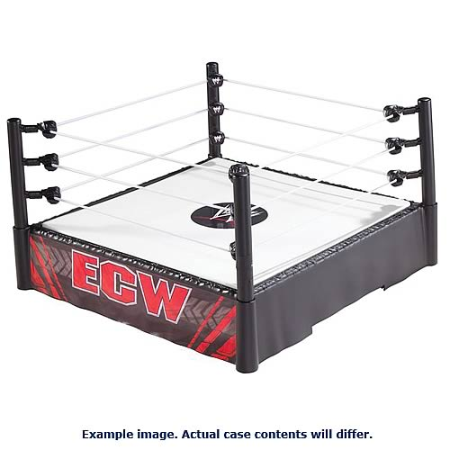 WWE Superstar Wrestling Rings Wave 6 Case