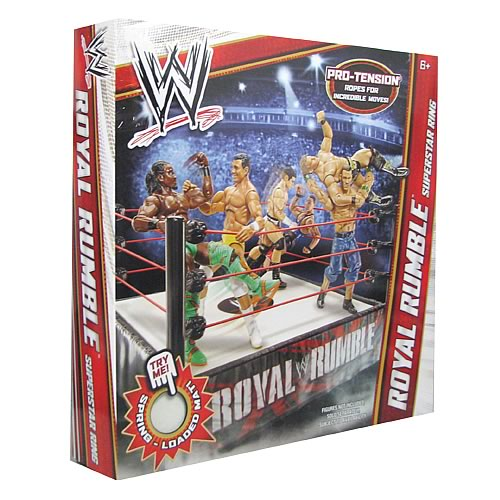 WWE Superstar Wrestling Rings Wave 7 Case