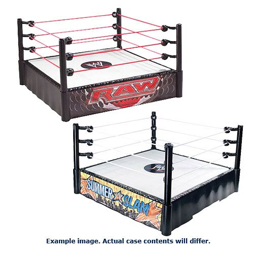 WWE Superstar Wrestling Rings Wave 9 Case