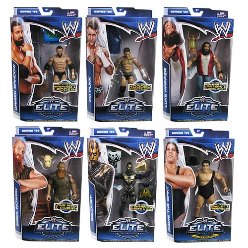 WWE Elite Collection Series 29 Figure Case