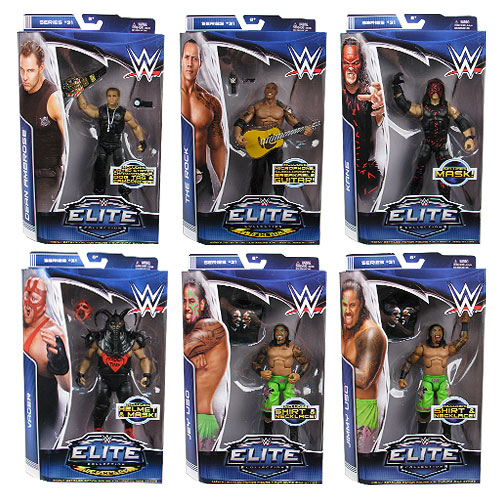 WWE Elite Collection Series 31 Revision 1 Figure Case