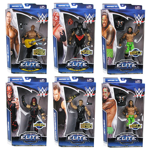 WWE Elite Collection Series 31 Figure Case