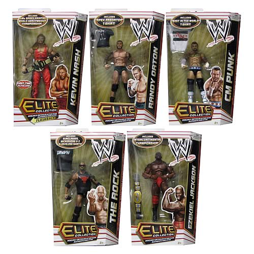 WWE Elite Collection 2012 Wave 16 Rev. 1 Action Figure Case