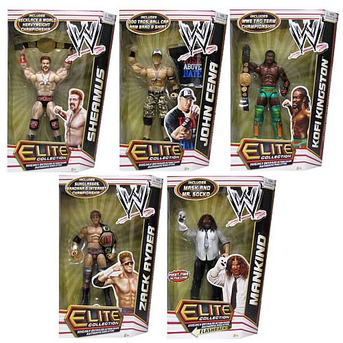 WWE Elite Collection 2012 Wave 17 Rev. 1 Action Figure Case