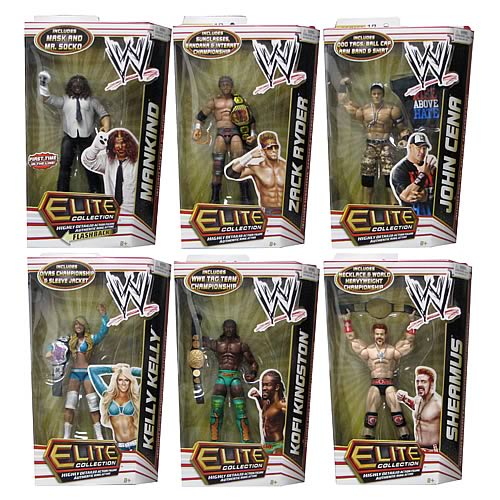 WWE Elite Collection 2012 Wave 17 Action Figure Case