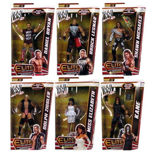 WWE Elite Collection 2012 Wave 19 Rev. 1 Action Figure Case