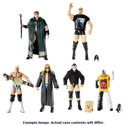 WWE Elite Collection 2012 Wave 19 Action Figure Case