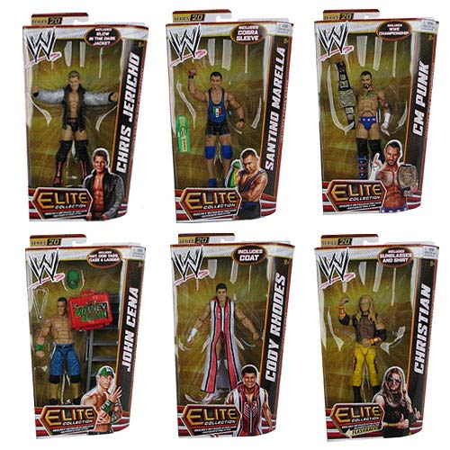 WWE Elite Collection 2012 Wave 20 Rev. 1 Action Figure Case