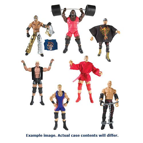 WWE Elite Collection Wave 21 Revsion 1 Figure Case