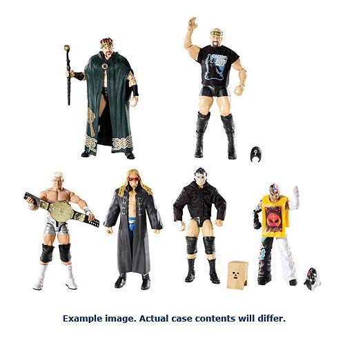 WWE Elite Collection Wave 22 Revision 1 Figure Case