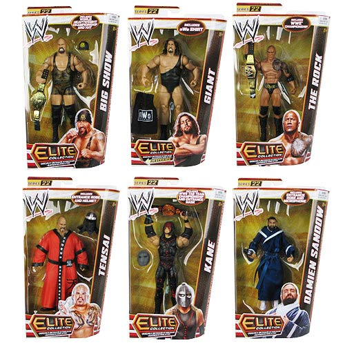 WWE Elite Collection Wave 22 Action Figure Case