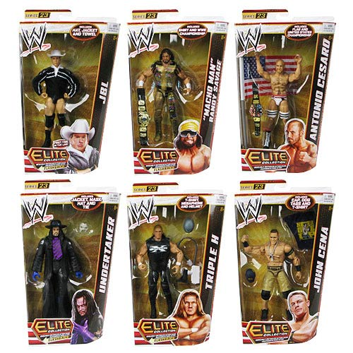 WWE Elite Collection Wave 23 Revision 1 Action Figure Case