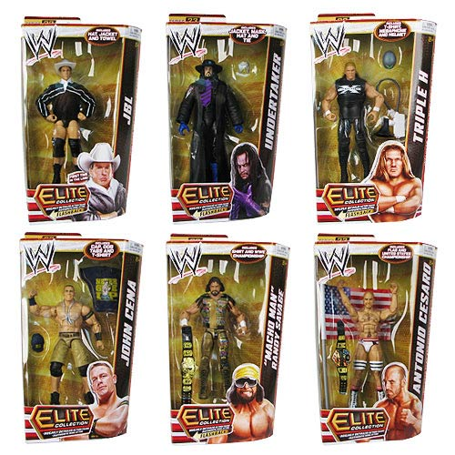 WWE Elite Collection Wave 23 Action Figure Case