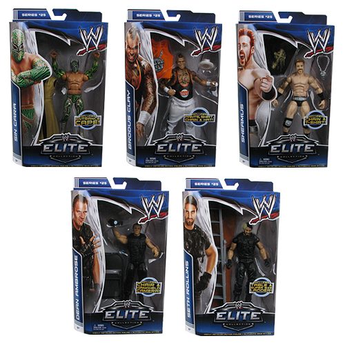 WWE Elite Collection Series 25 Revision 1 Figure Case