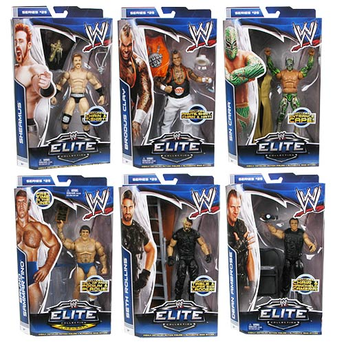 WWE Elite Collection Series 25 Action Figure Case