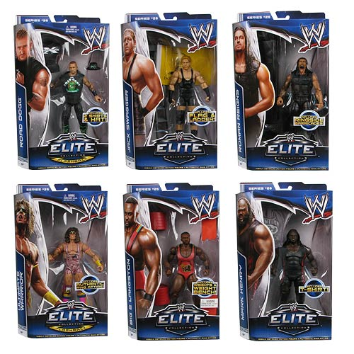 WWE Elite Collection Series 26 Figure Case