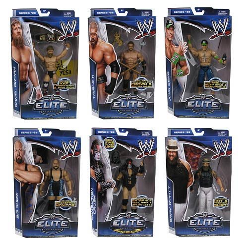 WWE Elite Collection Series 28 Figure Case