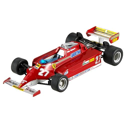 Hot Wheels Ferrari 126 CK Gilles Villenueve Car