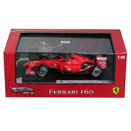 Hot Wheels Ferrari 2009 F1 Racing Line Raikkonen Car