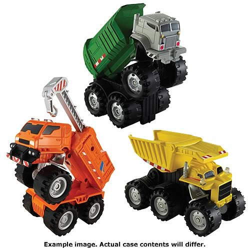 Matchbox Real Talking Rigs Assortment Case