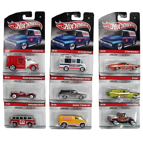 Hot Wheels Delivery Vehicles Wave 10 Case