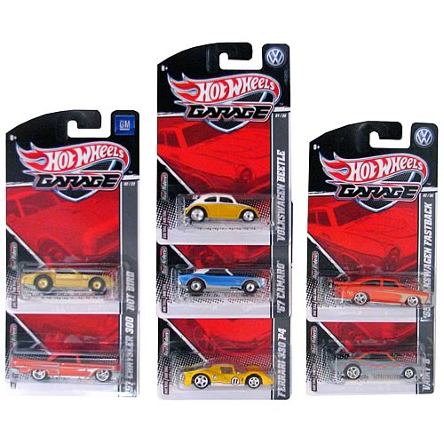 Hot wheels garage 2011 wave 1 revision 1 vehicles case for Garage revision auto