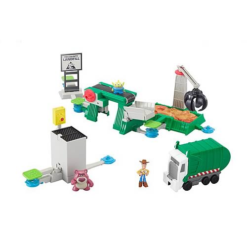 Toy Story 3 Action Links Junkyard Escape Playset