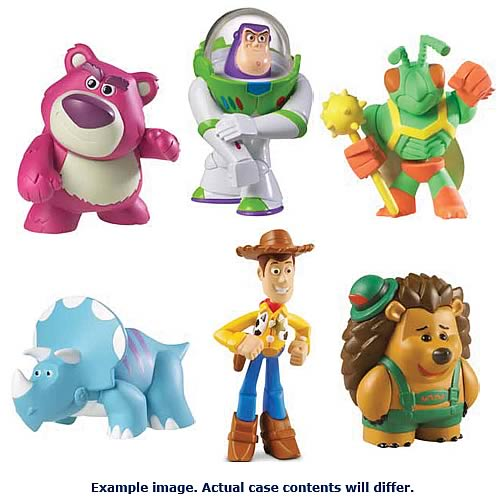 Toy Story 3 Buddy 3-Pack Action Figure Case