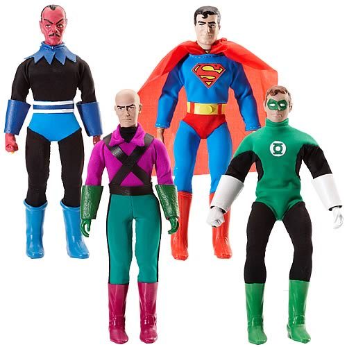 DC Universe Retro-Action Wave 1 Figures Set