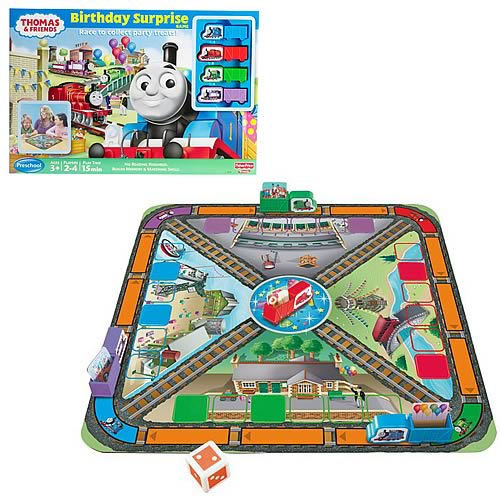 Thomas And Friends Birthday Surprise Game