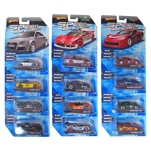 Hot Wheels Speed Machines Wave 4 Case