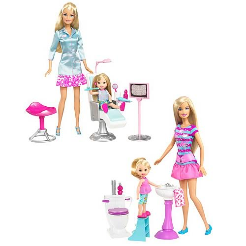 Barbie I Can Be Playsets Case