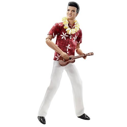 Elvis Presley in Blue Hawaii Barbie Doll