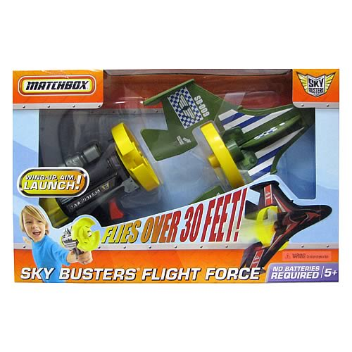 Matchbox Sky Busters Flight Force  Case