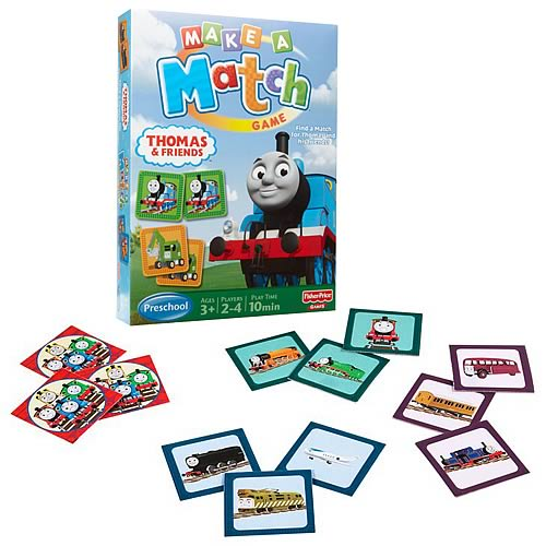 Thomas Make a Match Memory Game